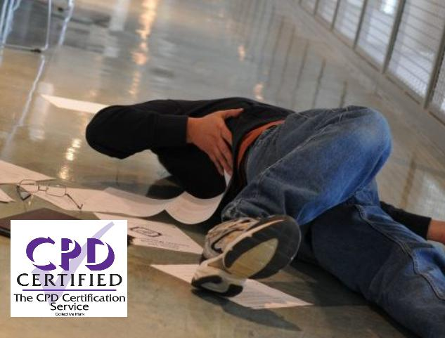 CPD CERTIFIED SLIPS TRIPS AND FALLS AT WORK COURSE