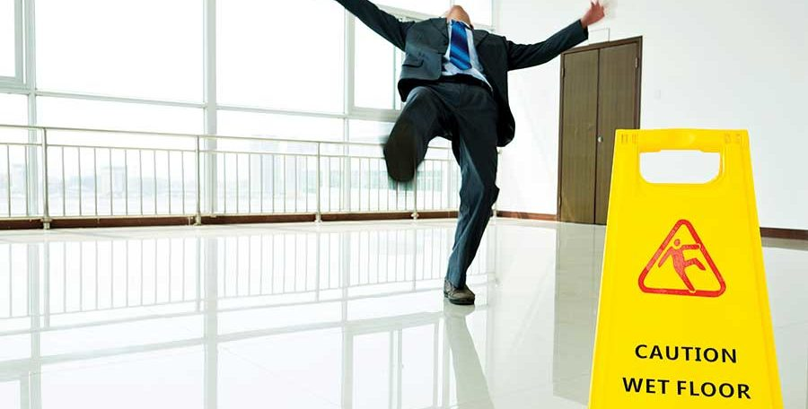 The Basics Of The Slips Trips and Falls at Work Course