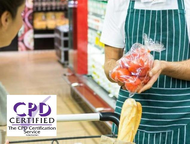 CPD CERTIFIED LEVEL 2 FOOD SAFETY AND HYGIENE FOR RETAIL COURSE