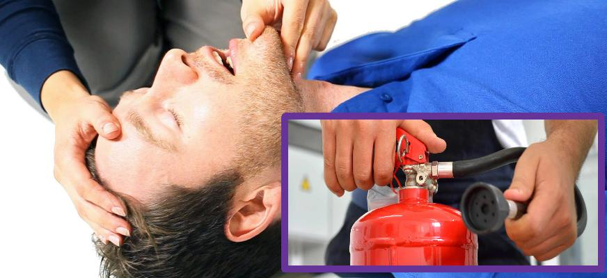 The Basics Of The First Aid At Work Awareness - Fire Safety In the Workplace Awareness Course Bundle