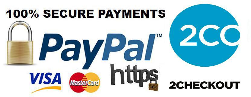Secure Payments with 2Co Checkout and Paypal